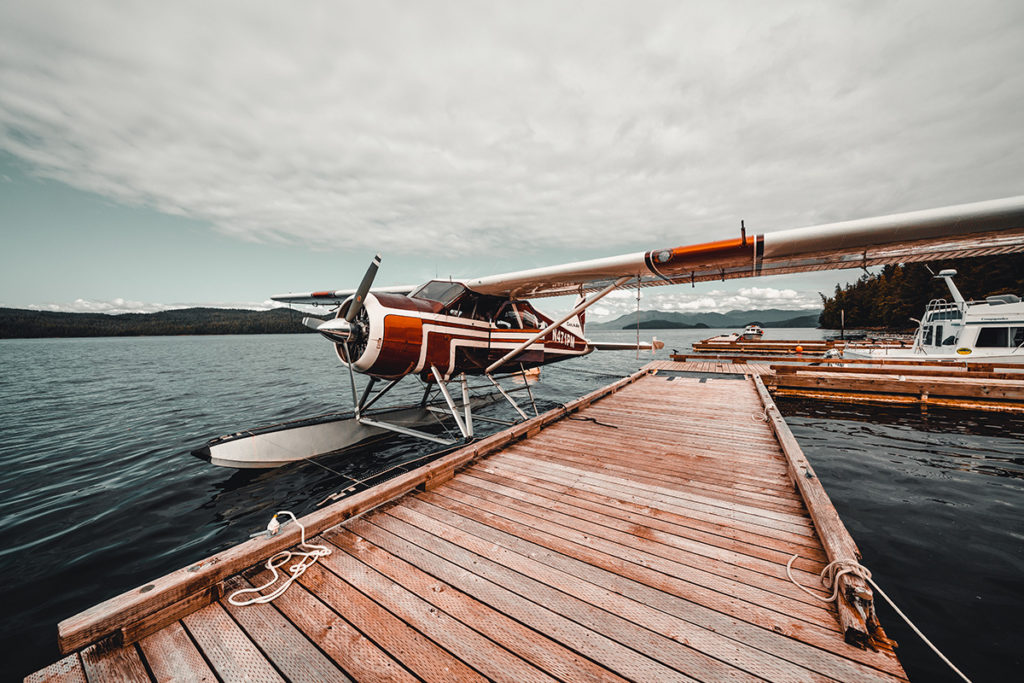 Float Plane Alaska at Salmon Falls Fishing Resort
