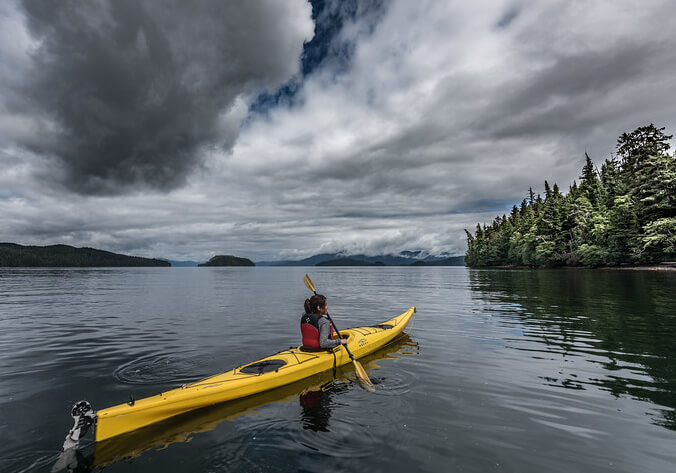 Sea Kayaking in Ketchikan, Alaska