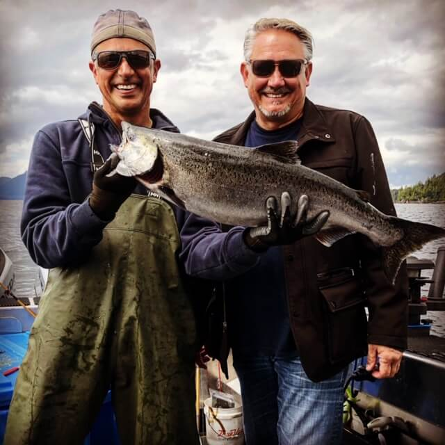 Salmon Fishing at Salmon Falls Resort