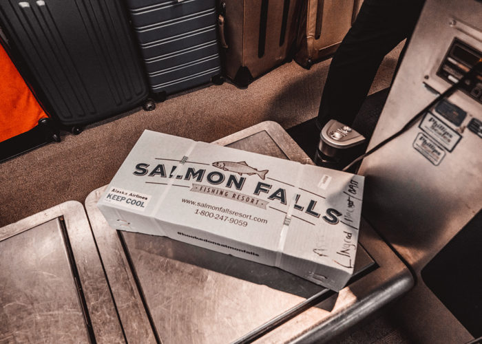 Packaged Fish at Salmon Falls Resort