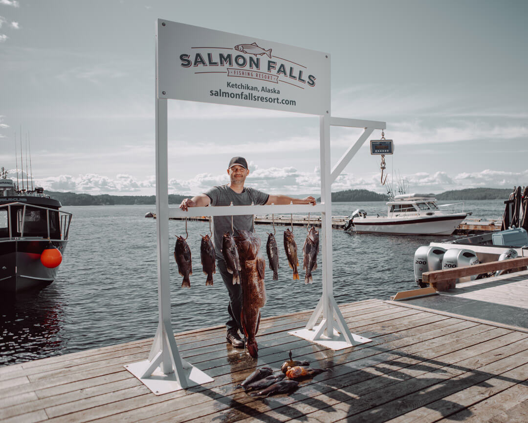Salmon Fishing Alaska Salmon Falls Resort
