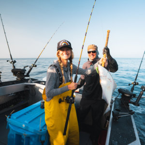 Fishing for Halibut at Salmon Falls Resort